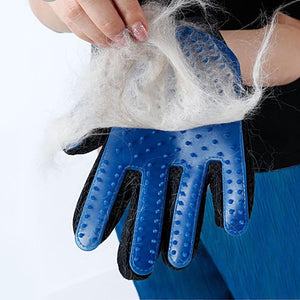 Pet Grooming Glove - mypetsdayoff