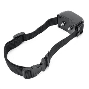 a black eclectic dog collar used for training dog available at mypetsdayoff.com