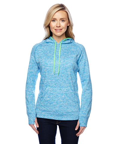Ladies Cosmic Fleece Hooded Pullover