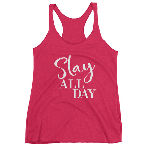 Slay All Day Ladies Tank