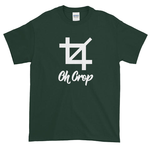 Oh Crop Unisex T-Shirt