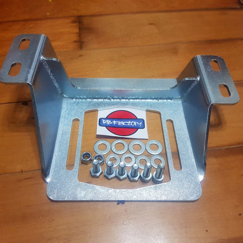 Barra Gearbox Bracket to suit R32, R33, R34 Skyline & S Chassis - Passenger Side High