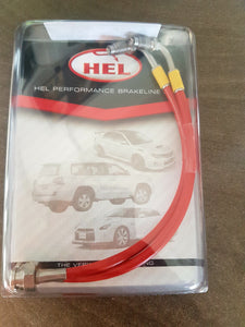 R31 Ausdel Skyline 2 Piston Rear Braided Brake Line