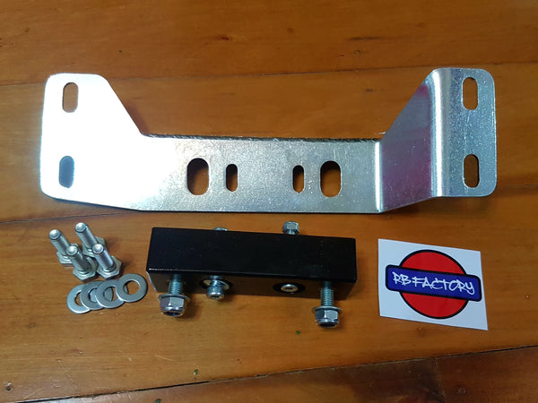 S Chassis SR20 with RB25 Gearbox Conversion Bracket - Drivers Side High
