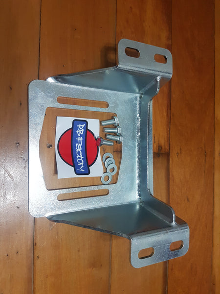 Barra Gearbox Bracket to suit R32, R33, R34 Skyline & S Chassis - Drivers Side High