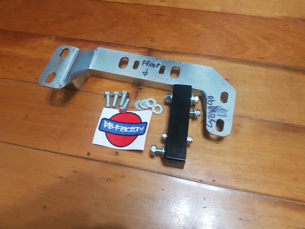 Nissan S Chassis, R32, RB Engine, RB25 Gearbox Conversion Bracket - Drivers Side High