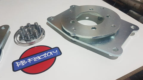 Nissan R31 Skyline Pintara Rear EL 300mm Dual Caliper Brackets