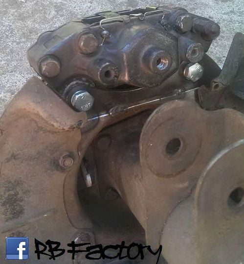 Holden Commodore D.I.Y Rear 2 Piston Caliper/ 280mm Vented Rotor Plates VL-VS