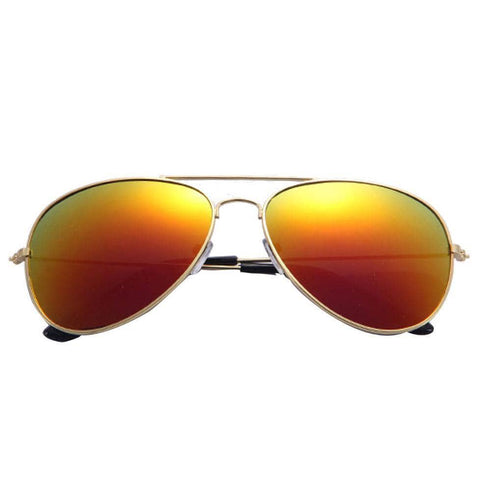 Unisex Women Men Classic Unisex Retro Sunglasses Metal Frame