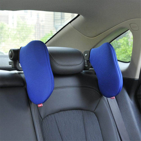 Auto Car Seat Pillow Travelling Car Headrest Neck Pillow Revolving Neck Rest Seat Headrest Cushion Pad Seat Support