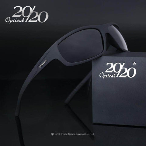 20/20 Optical Brand 2018 New Polarized Sunglasses Men Fashion Male Eyewear Sun Glasses Travel Oculos Gafas De Sol PL66 by Victory Roze