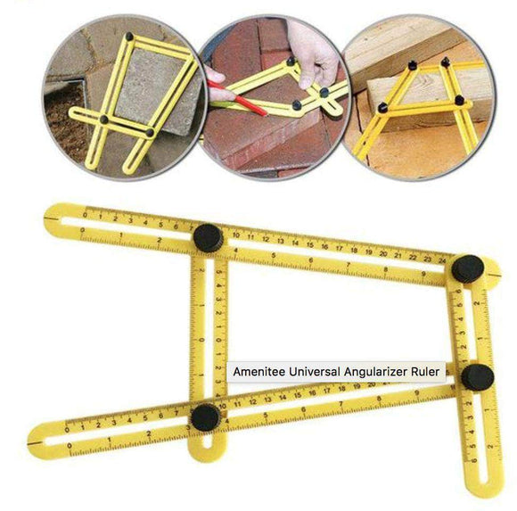 E-Z Measure Multi Angle Ruler