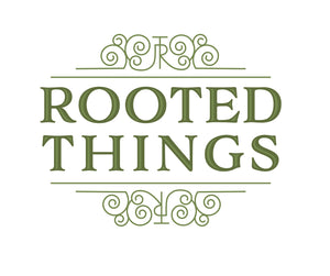 Rooted Things Logo Image, Home to the Flag Coaster