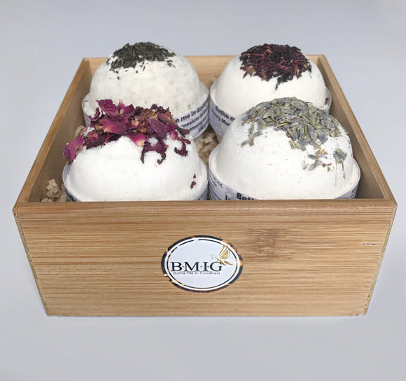 Luxury Magnesium Oil Bath Bomb Gift Box