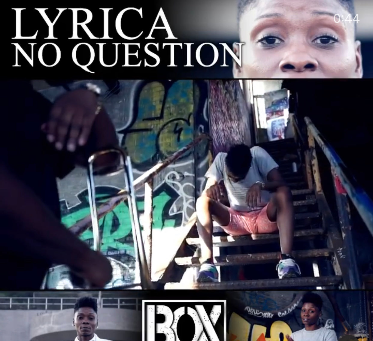 Lyrica NO QUESTION (OFFICIAL VIDEO)