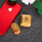 Wooden AirPods Case Wireless Earphone Protective Shell Cover Headset Storage Case Accessories