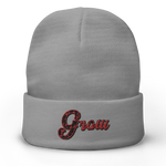 Grow Embroidered Beanie