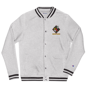 Negrow League Embroidered Champion Bomber Jacket