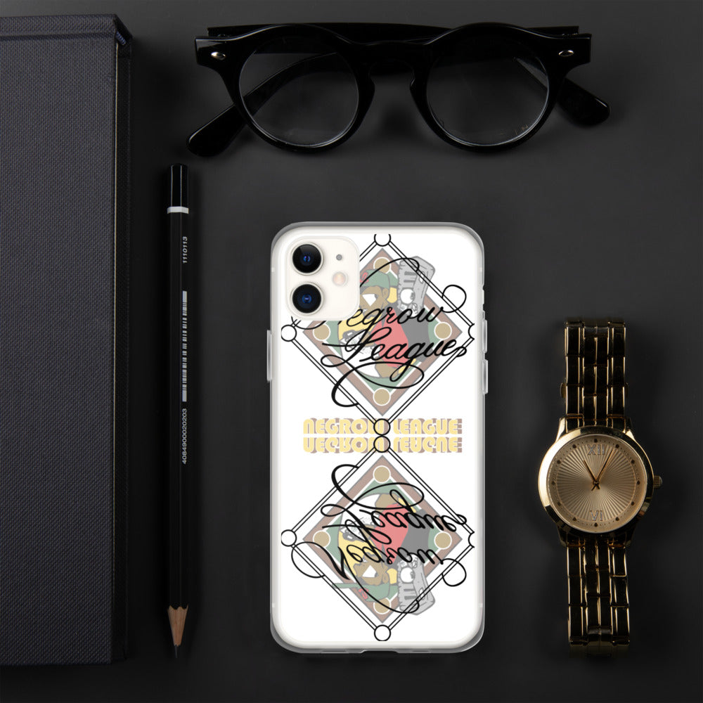 LRG NEGROW LEAGUE CALLIGRAPHY iPhone Case