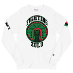Negrow League X Defiant INTL Collab Fighting Zulu's  Men's Champion Long Sleeve Shirt