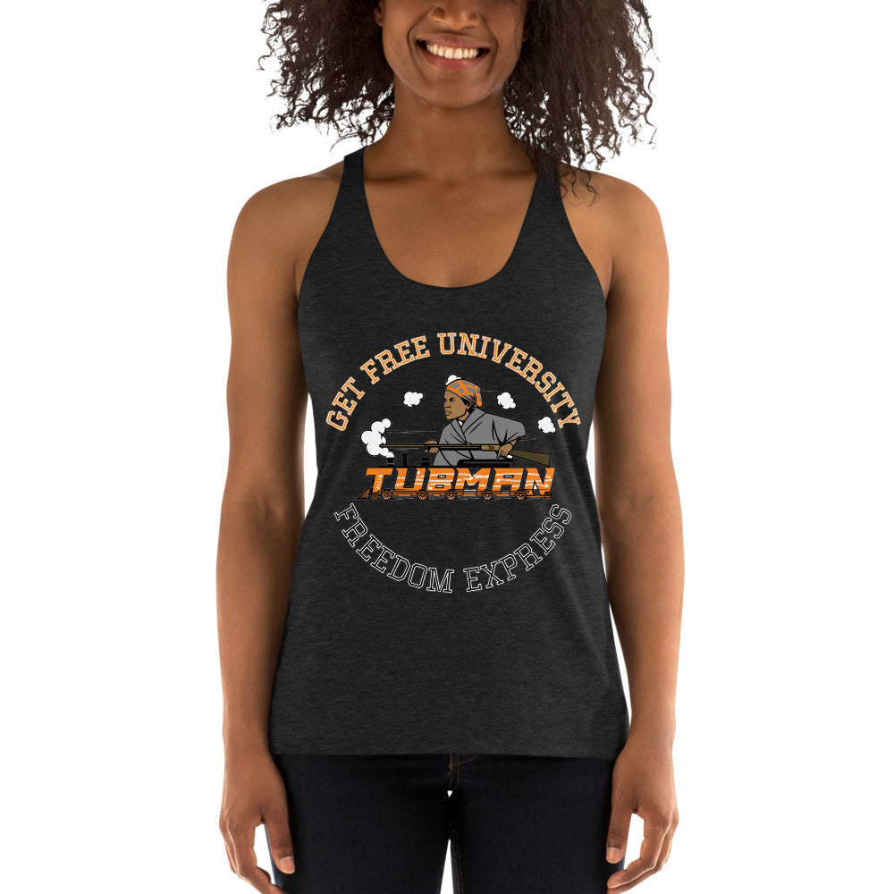Freedom Express Women's Racerback Tank