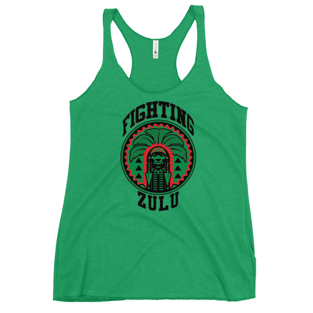 Fighting Zulu Women's Racerback Tank