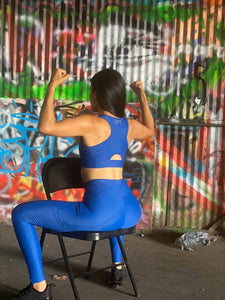 Reflect Bra - Electric Blue - Lift Up Clothing LLC