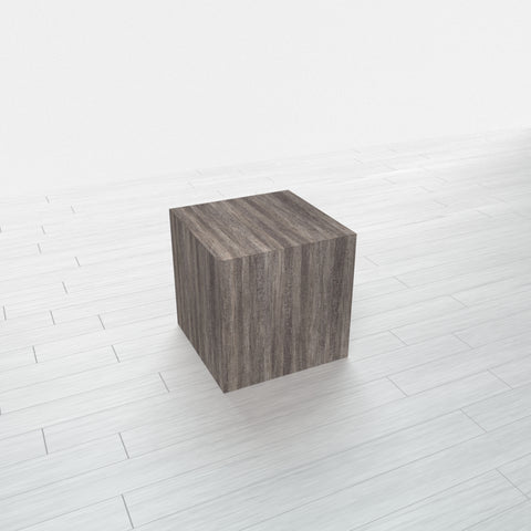 RECTANGLE - Blackened Fiberwood Base + Blackened Fiberwood Top - 11.5x11.5