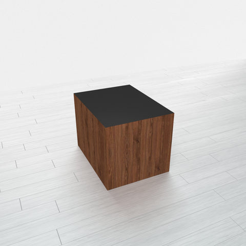 RECTANGLE - Thermo Walnut Base + Black Top - 12x16