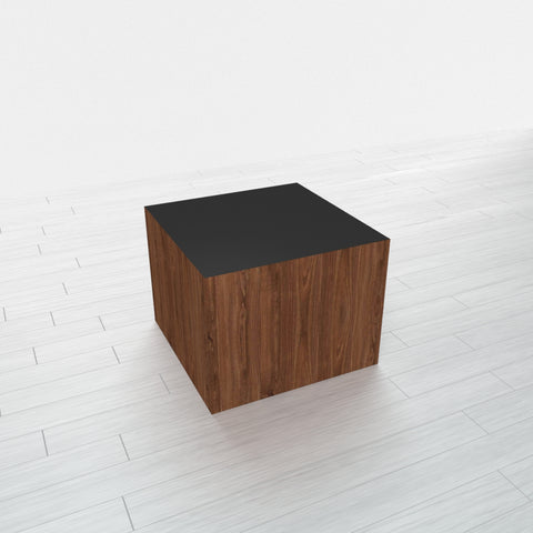 RECTANGLE - Thermo Walnut Base + Black Top - 15x15