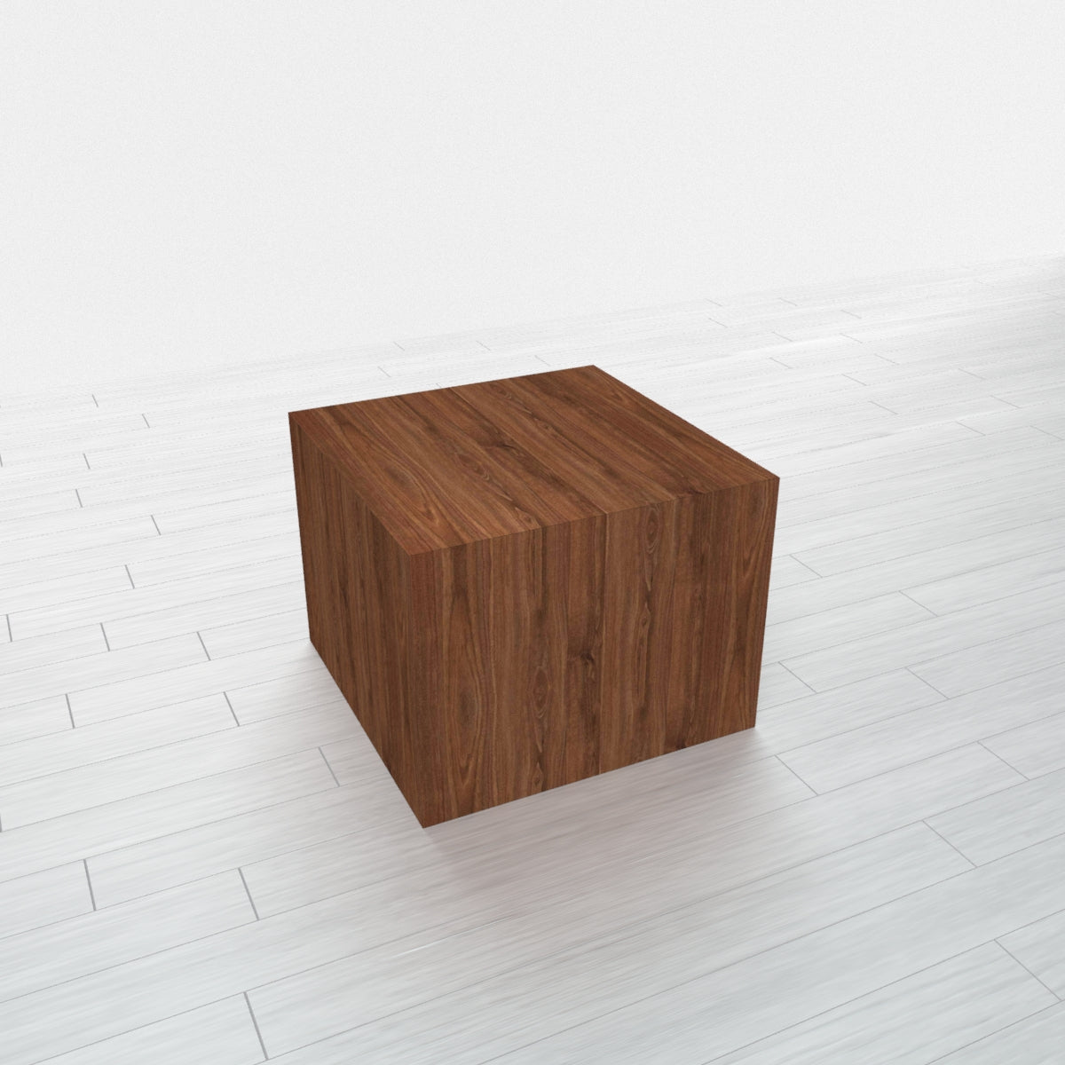 RECTANGLE - Thermo Walnut Base + Thermo Walnut Top - 15x15