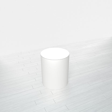 CYLINDRICAL - White Base + White Top - 15x15