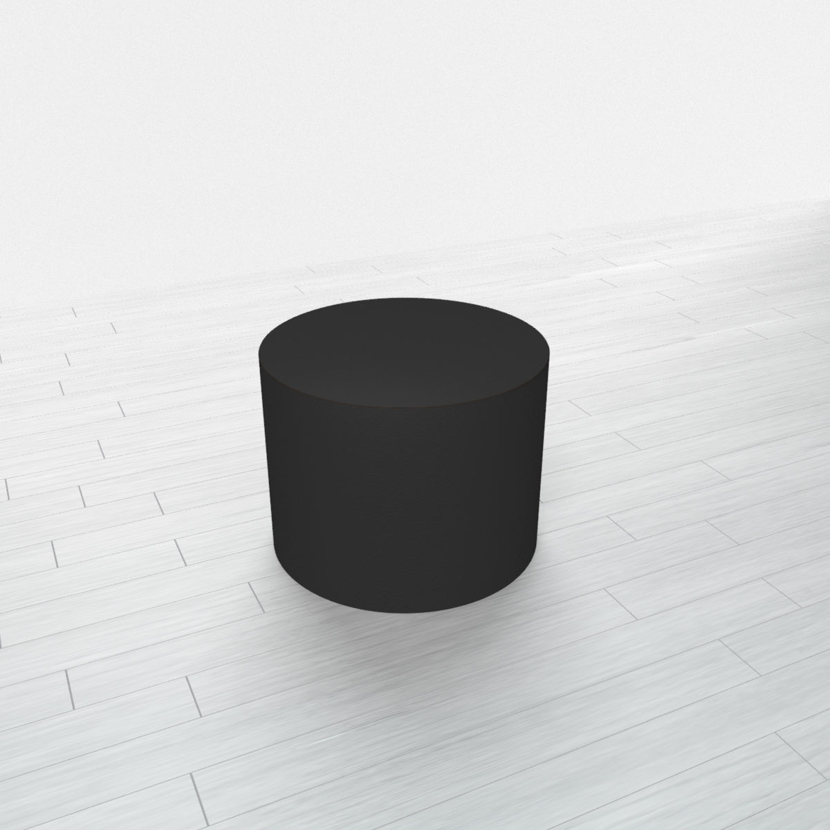 CYLINDRICAL - Black Base + Black Top - 15x15