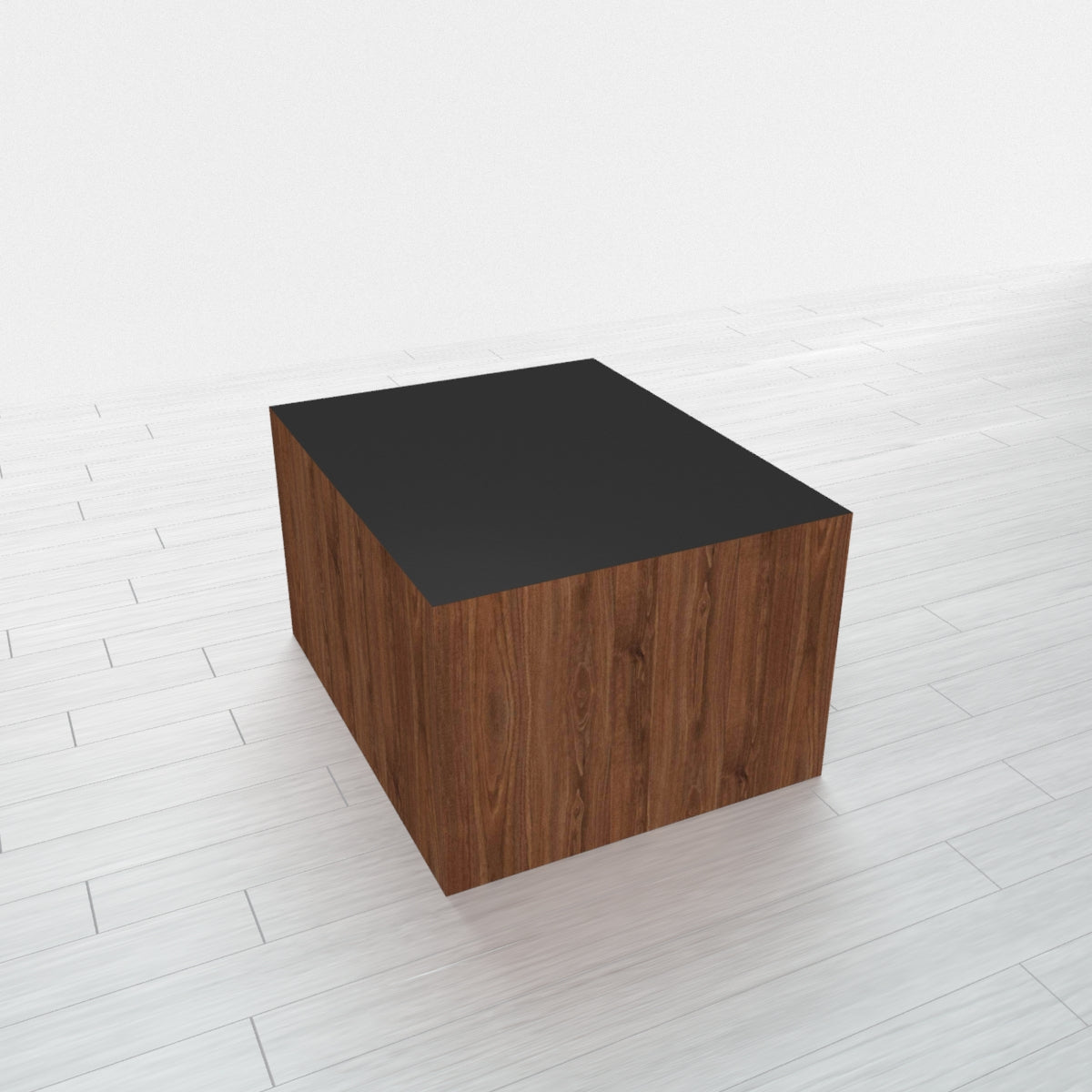 RECTANGLE - Thermo Walnut Base + Black Top - 16x20
