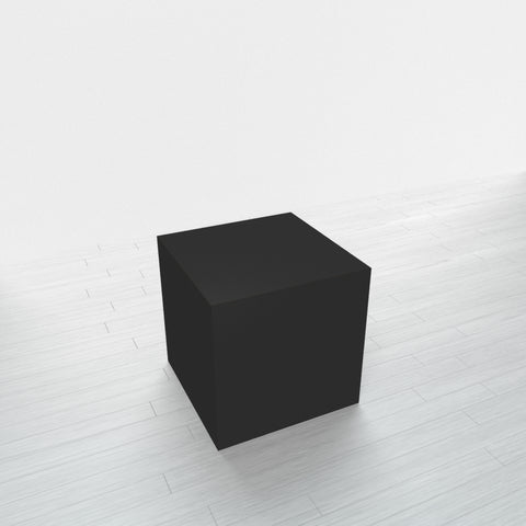 RECTANGLE - Black Base + Black Top - 18x18