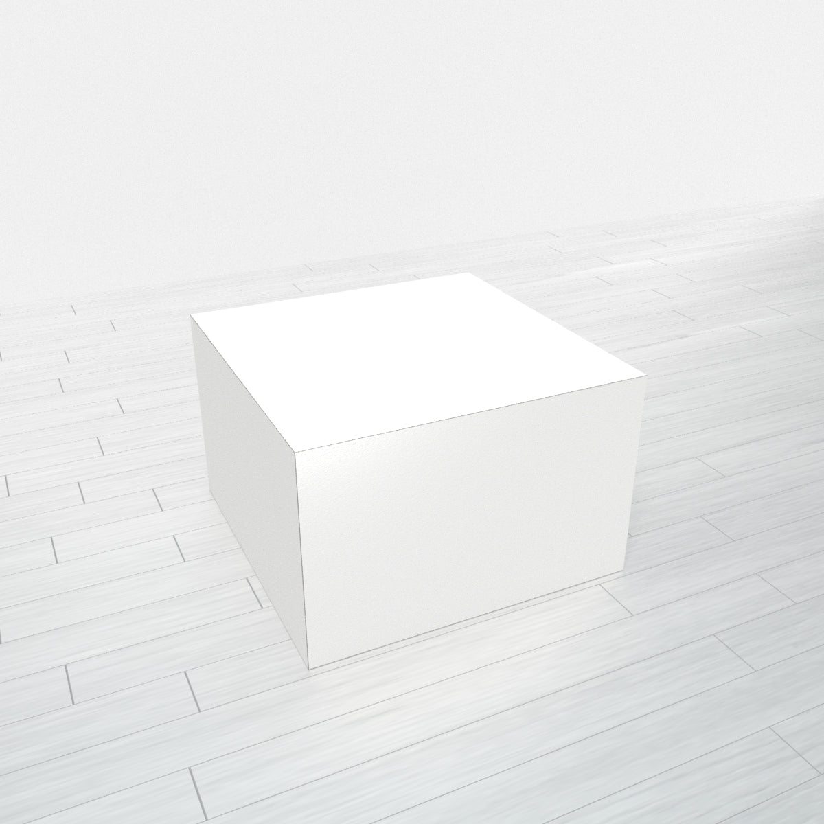 RECTANGLE - White Base + White Top - 18x18