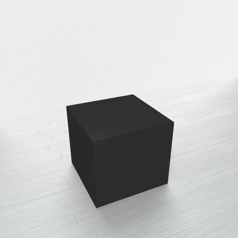 RECTANGLE - Black Base + Black Top - 20x20