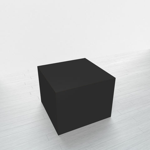 RECTANGLE - Black Base + Black Top - 23x23