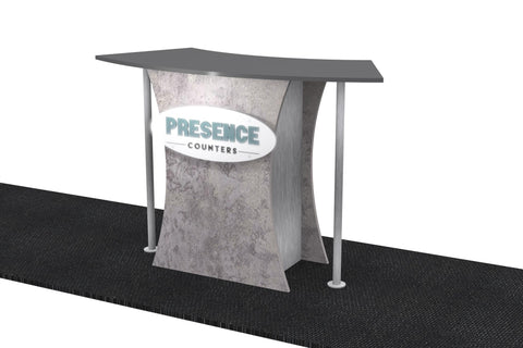 Presence Knock-Down Counter - C
