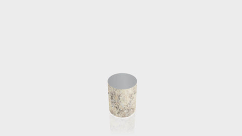 CYLINDRICAL - Belmonte Granite Base + Mouse Grey Top