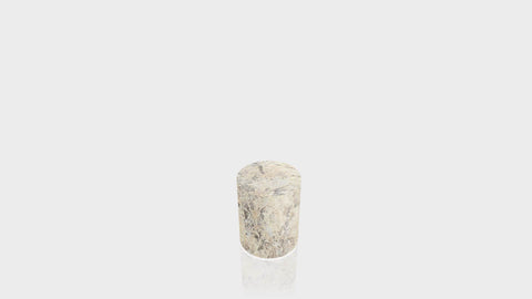 CYLINDRICAL - Belmonte Granite Base + Belmonte Granite Top