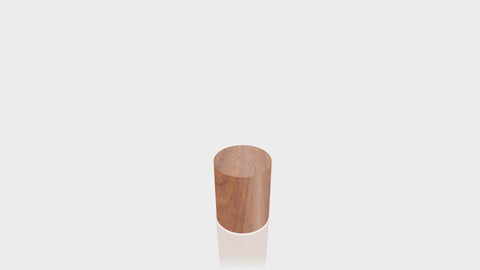 CYLINDRICAL - Blossom Cherrywood Base + Blossom Cherrywood Top