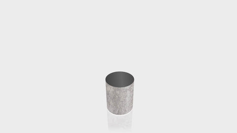 CYLINDRICAL - Elemental Concrete Base + Black Top