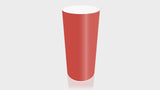 CYLINDRICAL - Grenadine Base + White Top