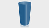 CYLINDRICAL - Marine Blue Base + Marine Blue Top