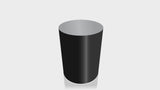 CYLINDRICAL - Black Base + Mouse Grey Top
