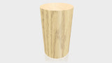 CYLINDRICAL - Natural Oak Base + Hard Rock Maple Top