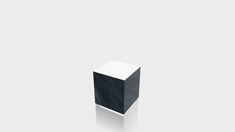 RECTANGLE - Basalt Slate Base + White Top