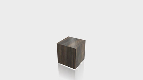 RECTANGLE - Bronzed Steel Base + Bronzed Steel Top