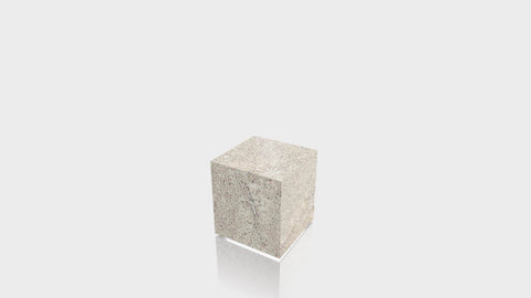 RECTANGLE - Concrete Stone Base + Concrete Stone Top
